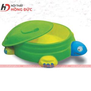 Bể chơi cát hình rùa HMN47