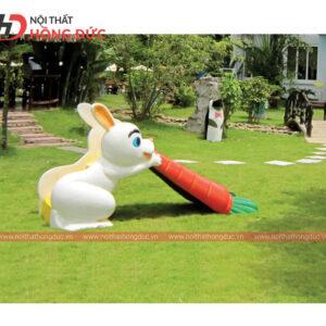 Cầu trượt thỏ và cà rốt HMAY19