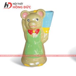 Thùng rác gấu HMAY45G