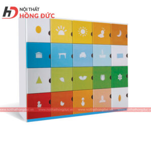 Tủ tư trang 20 ô HMN23C