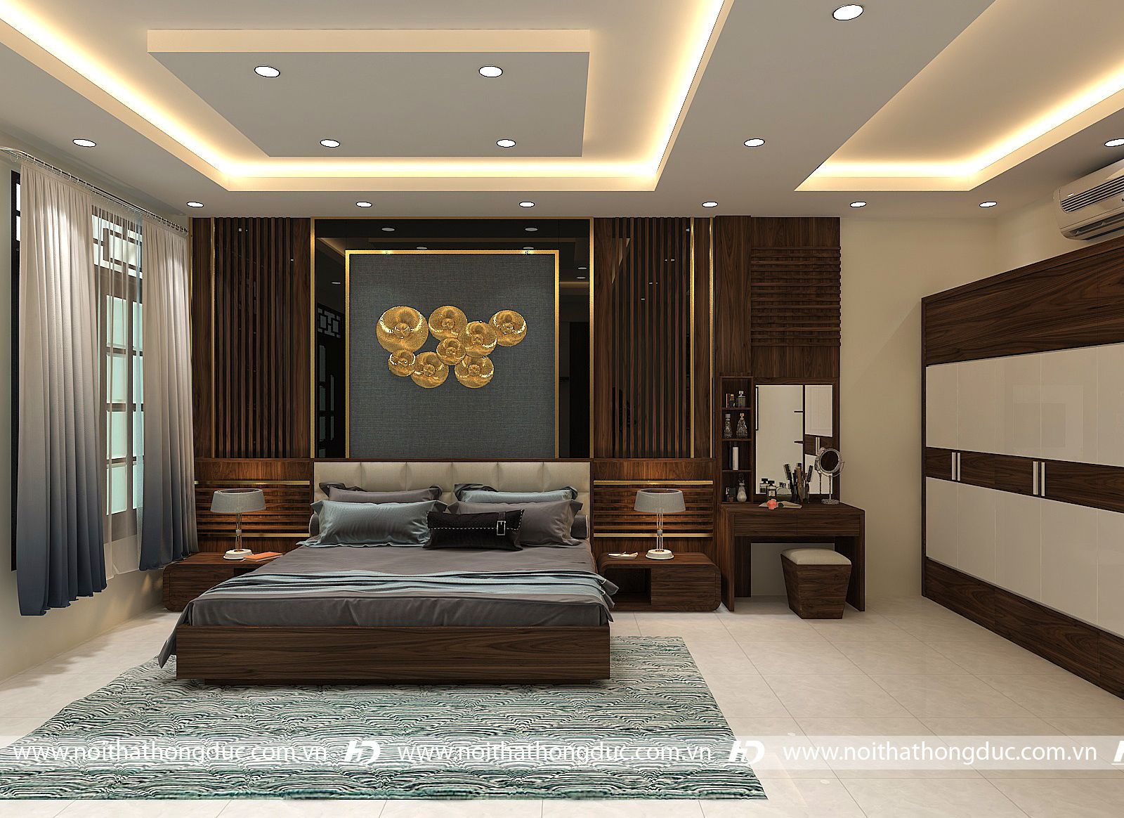 Thiết kế thi công nội thất biệt thự 13