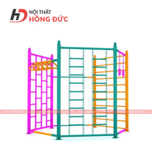 Tổ hợp thang leo lục giác HDC114