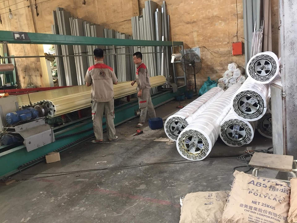 Xưởng sản xuất cửa cuốn An Phú Hồng Đức