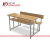 Bàn ghế học sinh cấp 2 có tựa HBH22G
