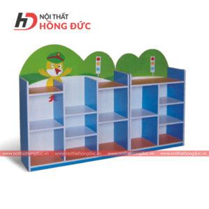 Góc phân vai công an mầm non HMN48