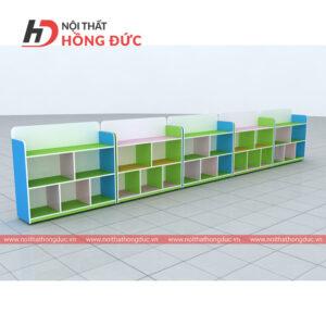 Tổ hợp giá để đồ chơi và học liệu HMN005D