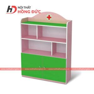 Tủ mầm non bác sỹ gấu HMN14B