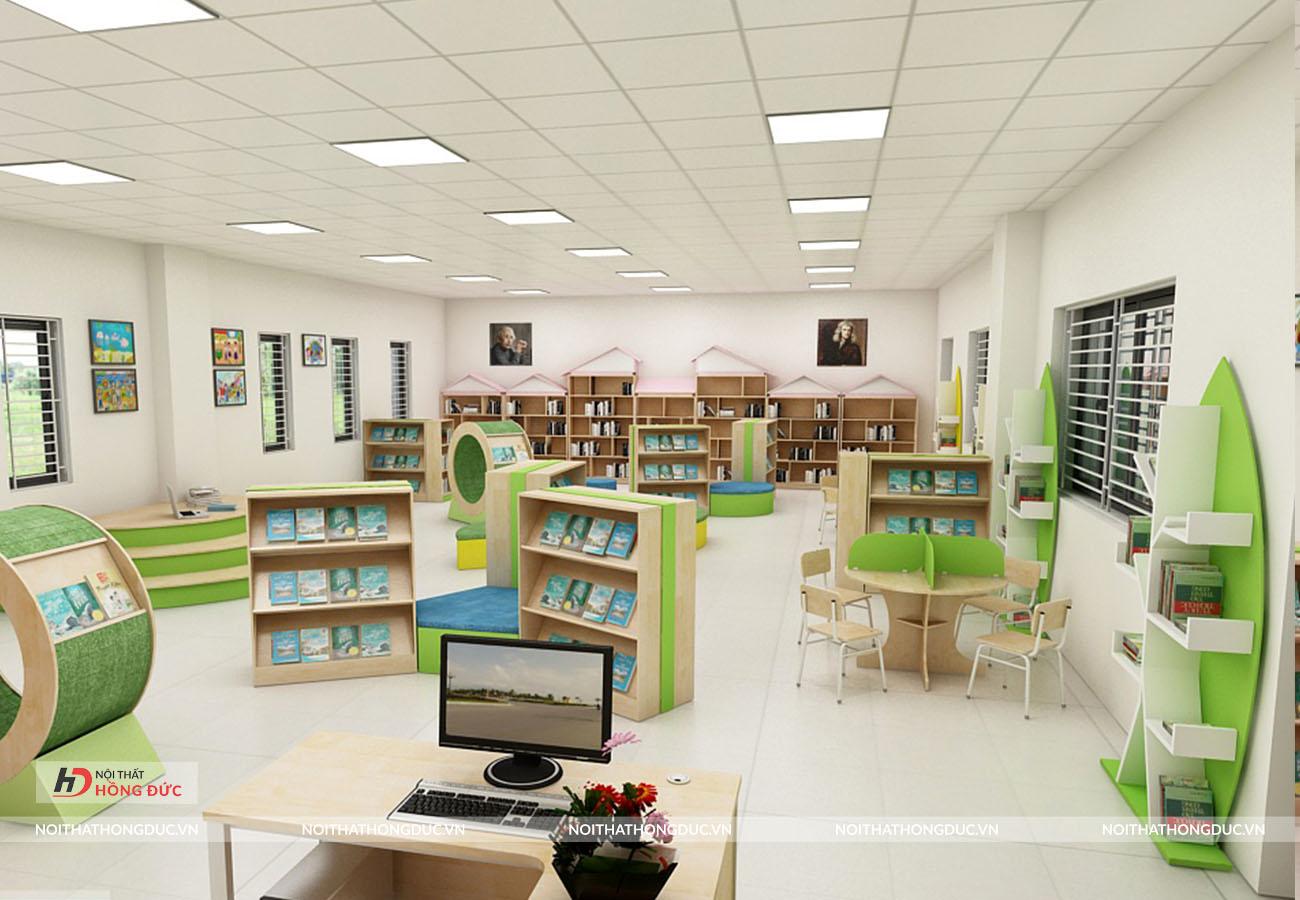thiết kế thi công nội thất trường học Nobel Thanh Hóa
