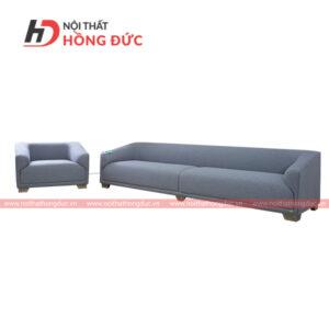 Sofa bộ nỉ văng màu xám nhạt