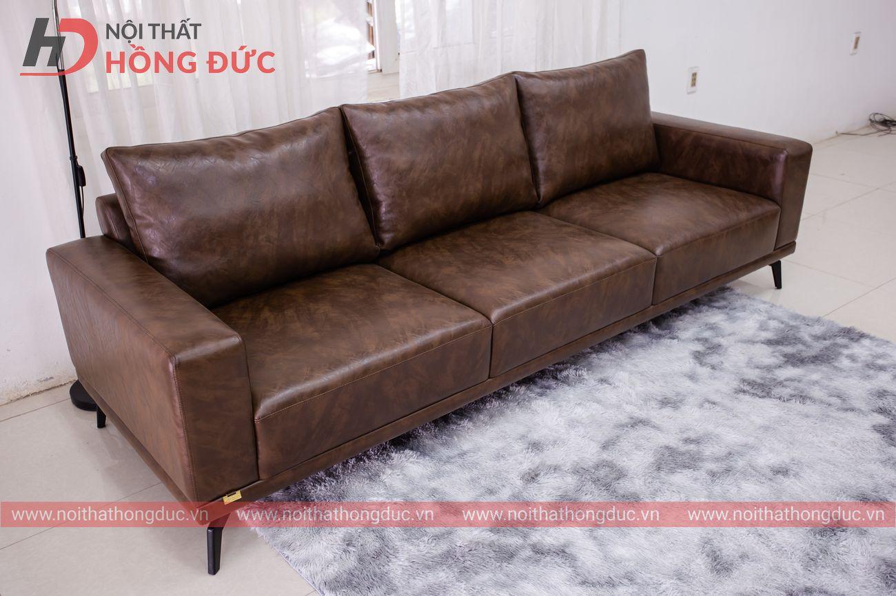 Sofa văng gõ da đặc biệt sản xuất tại Thanh Hóa