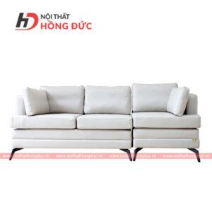 sofa da văng màu trắng sữa