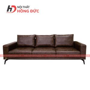 Sofa gỗ óc chó da cao cấp