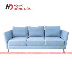 Sofa nỉ văng đơn màu xanh nhạt