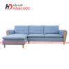 Sofa nỉ văng xanh nhạt