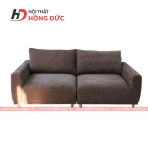 Sofa nỉ văng màu nâu đất nhạt