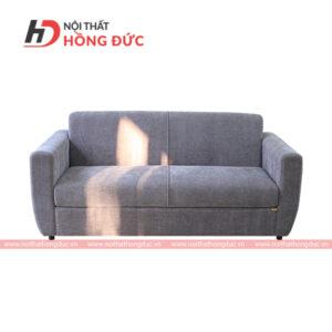 Sofa văng nỉ màu nâu đất nhạt
