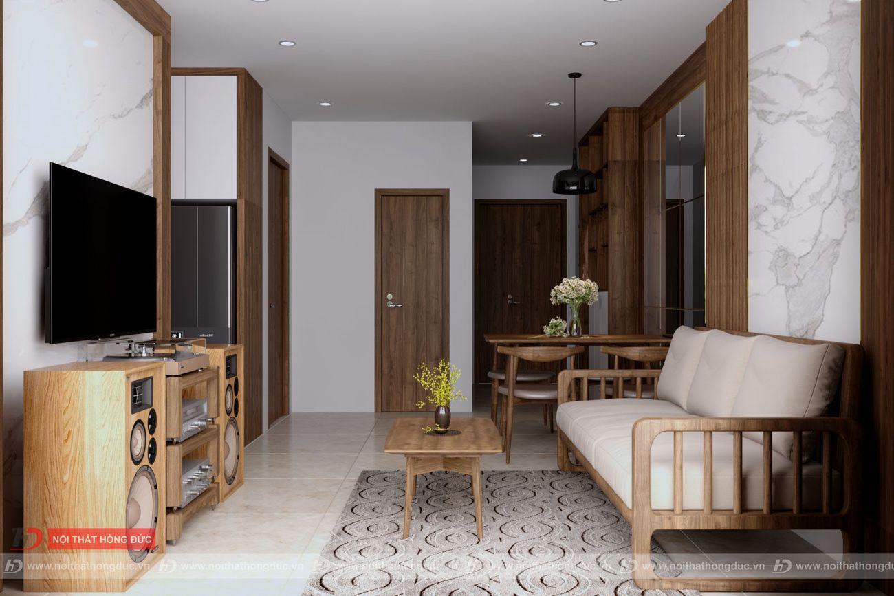 thiết kế thi công nội thất chung cư xuân mai thanh hóa