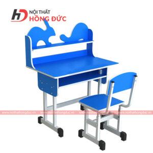 bộ bàn ghế rù thỏ màu xanh