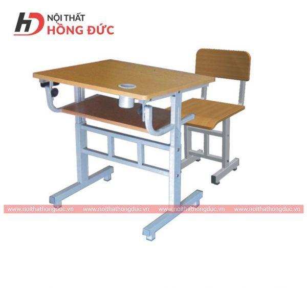 Mẫu bàn học sinh bằng gỗ đẹp thiết kế hiện đại