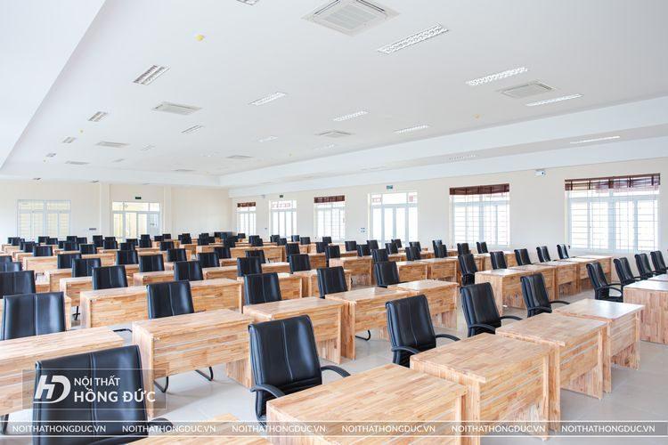 Thiết kế thi công nội thất trường Trần Phú - HP