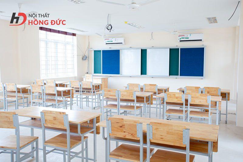 Thiết kế thi công thiết bị nội thất trường Trần Phú
