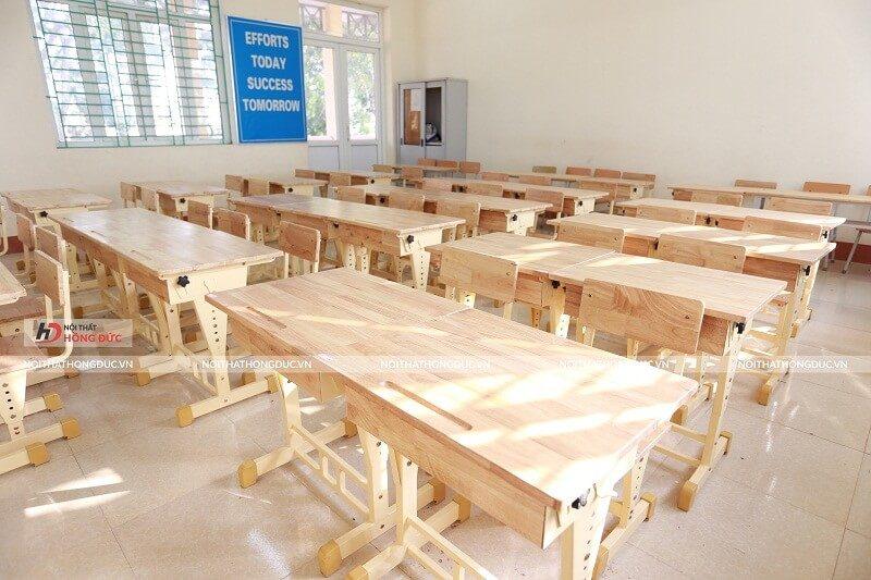Bàn ghế học sinh Hồng Đức